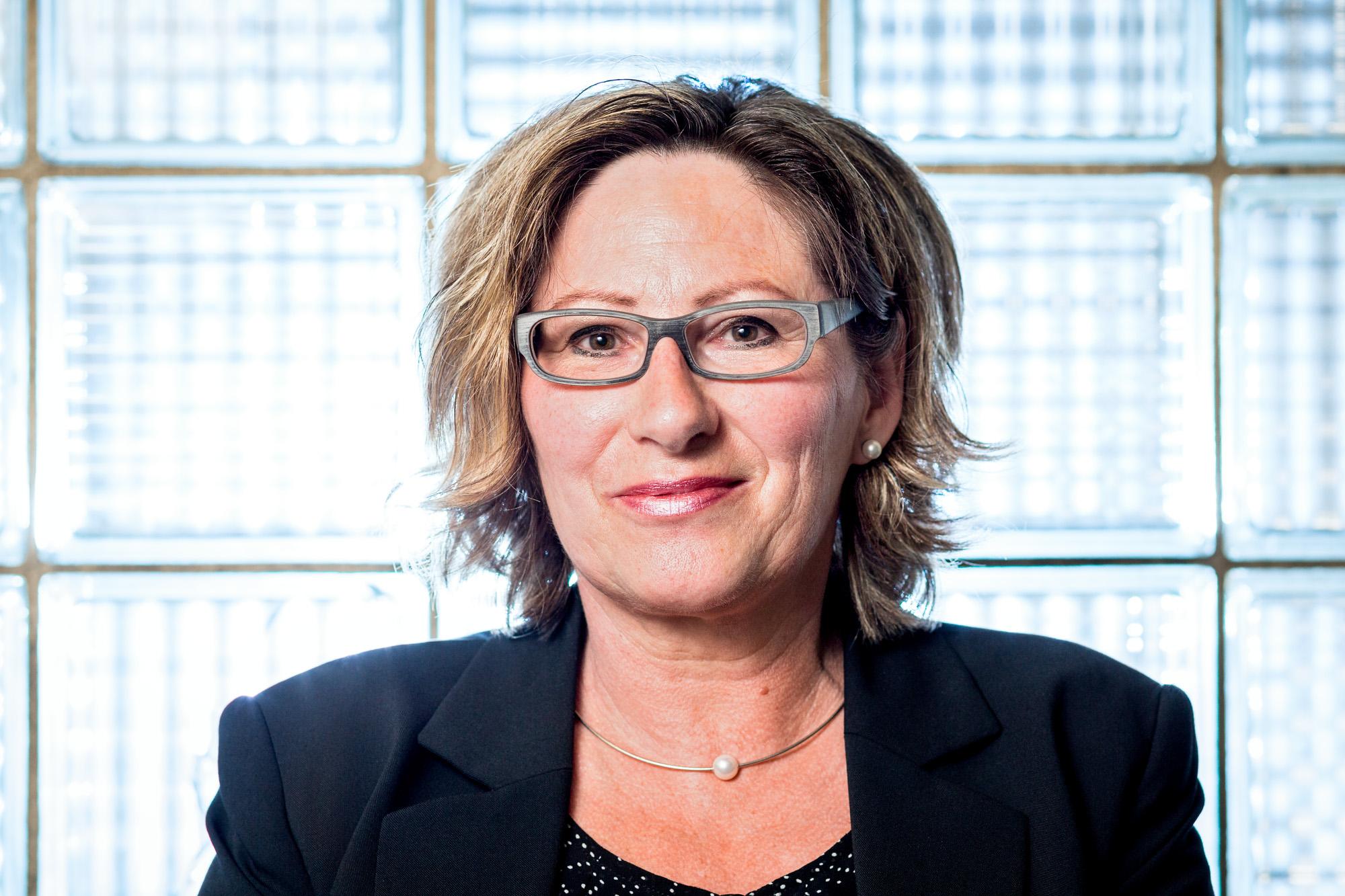 Brigitte De Luca von der MerzGips AG