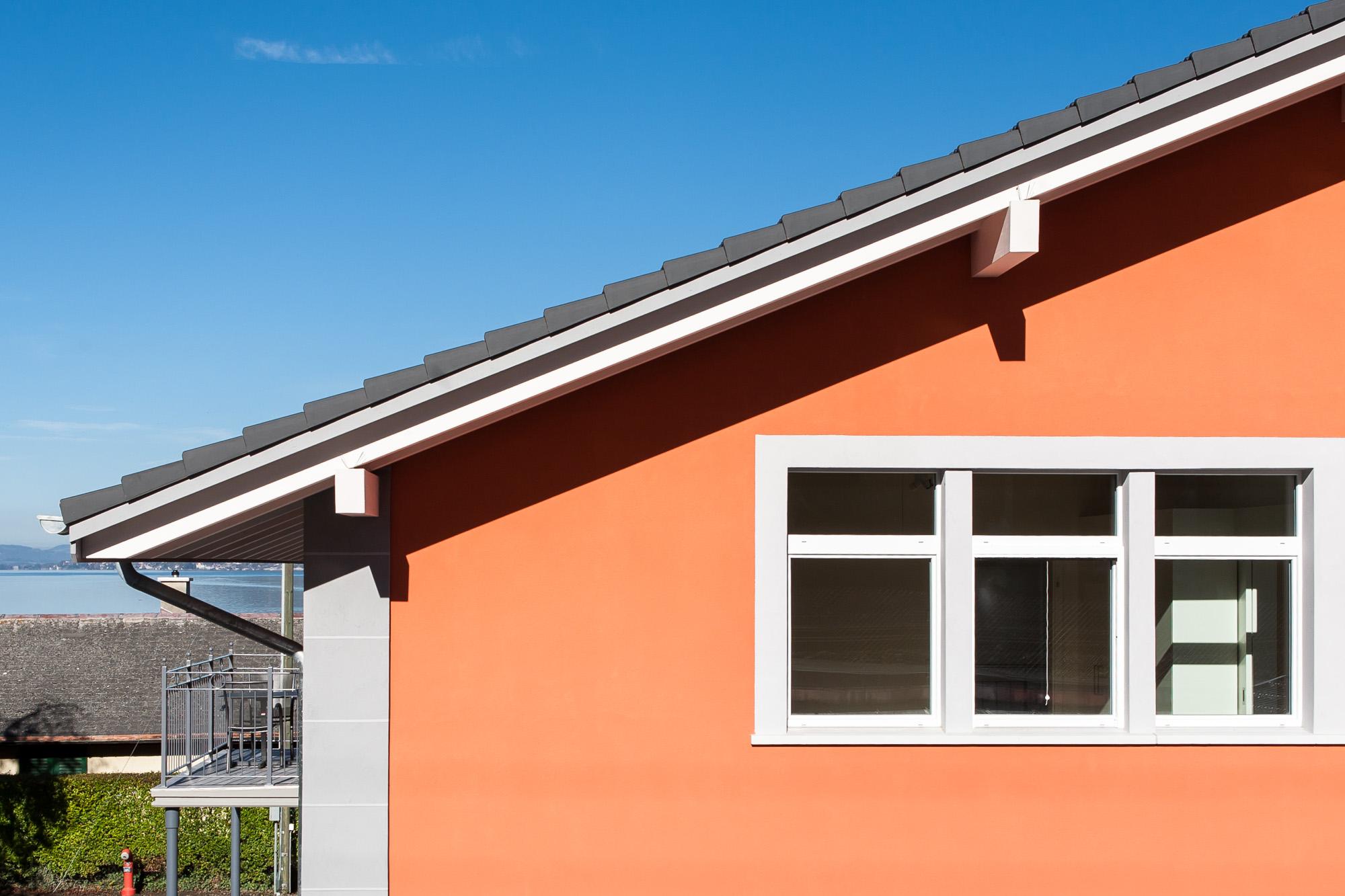 Bei Umnutzung / Umgestaltung der alten Fabrik in Leissigen zu einem Mehrfamilienhaus konnte die MerzGips AG Fassadenbau und Gipserarbeiten ausführen.