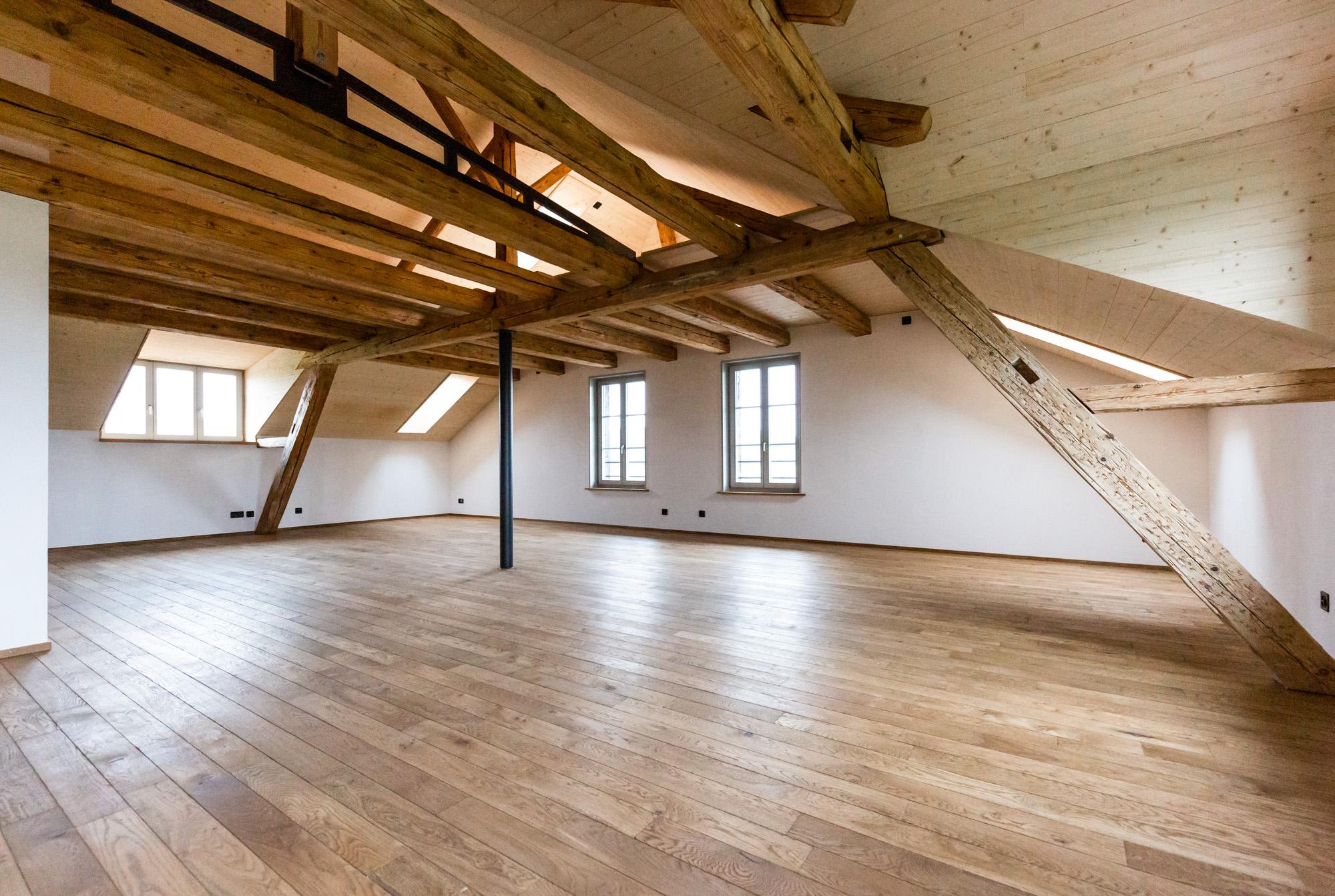 In Riedbach in Bern konnte die MerzGips AG Gipserarbeiten bei der Restauration eines ehemaligen Gasthofes Gipserarbeiten im Innenbereich ausführen.