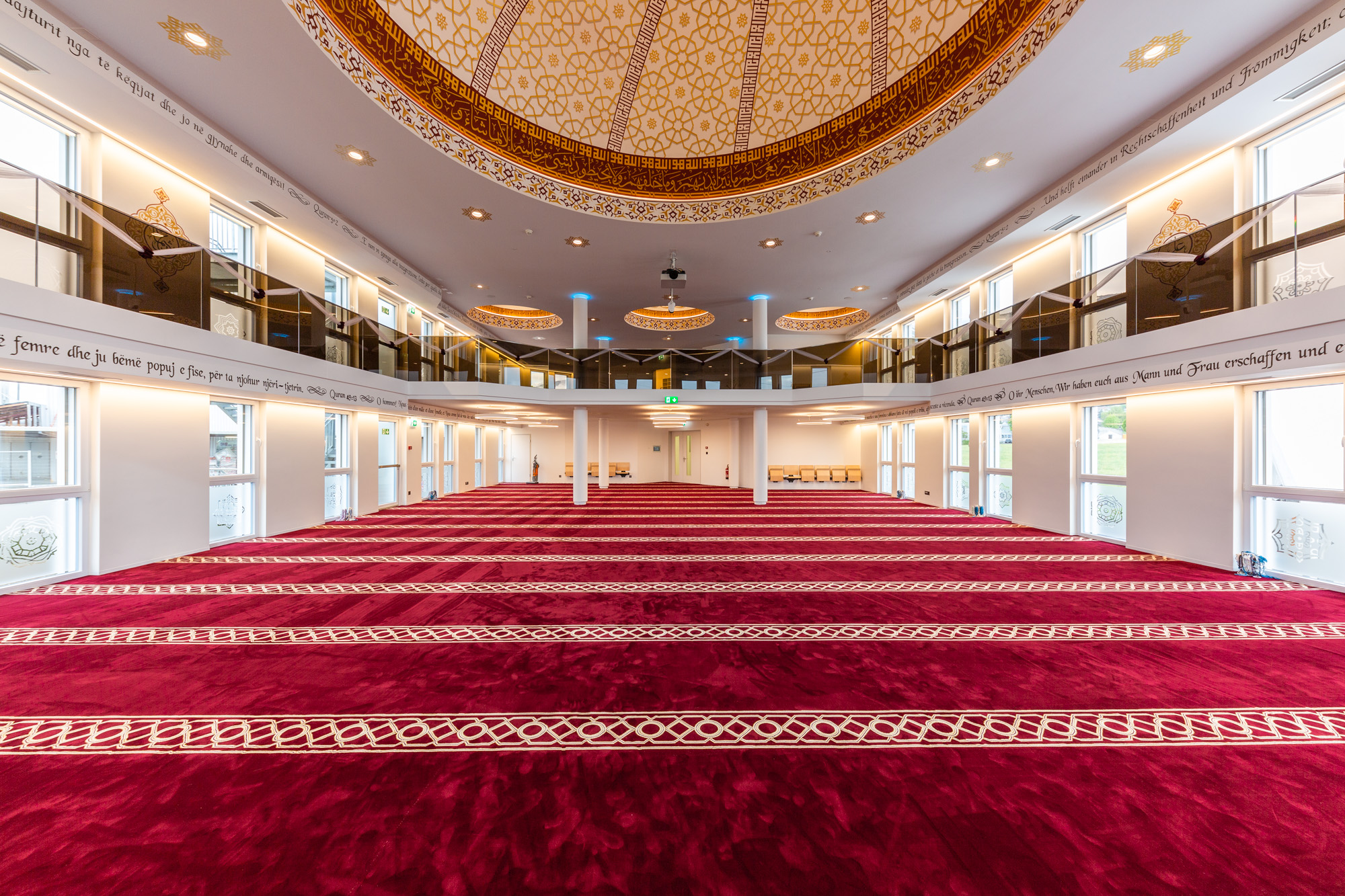In Grenchen hat MerzGips beim Bau der Moschee Ebu Hanife Fassaden- und Gipserarbeiten durchgeführt sowie im Trockenbau gewirkt.