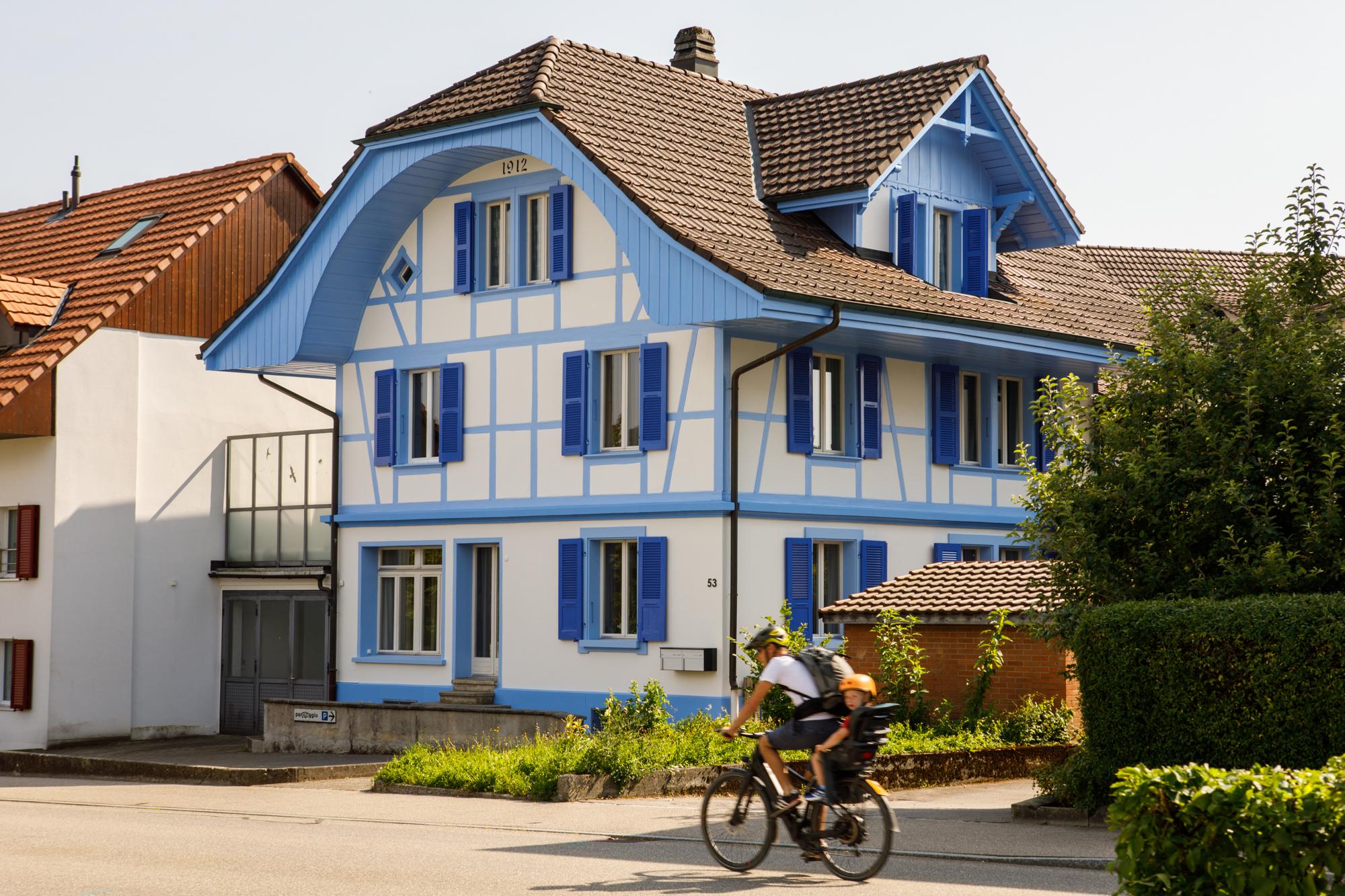 Malerarbeiten für ein altes Mehrfamilien Bauernhaus in Zollikofen